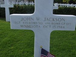 Sgt John W Jackson