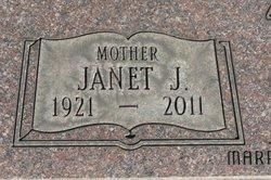 Janet Jane <I>Bonar</I> Zick
