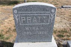 "Almira Hepzibah ""Myra"" <I>Wood</I> Pratt"