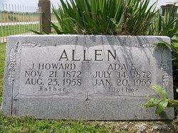 Ada Elinor <I>Higdon</I> Allen