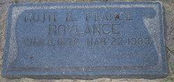Ruth Elmina <I>Pearce</I> Roylance
