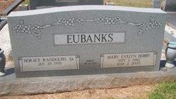 Mary Evelyn <I>Hobby</I> Eubanks