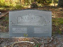 """Nancy Ann """"Annie"""" <I>Wilburn</I> Barber"""
