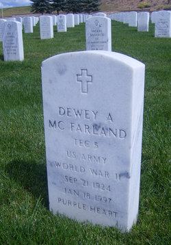 Dewey Adriann McFarland