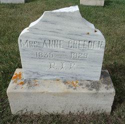 Mrs Anne Creeden
