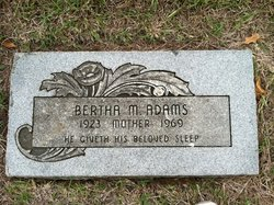 Bertha M. Adams