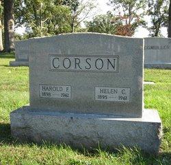 Dr Harold Fee Corson