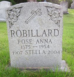 Rose Anna <I>Foucher</I> Robillard