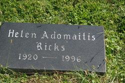 Helen Adomaitis Ricks