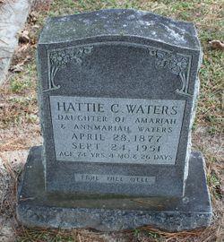 Hattie C Waters