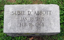 Susie D. <I>Sharp</I> Abbott