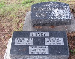 Lydia Marie Fundy