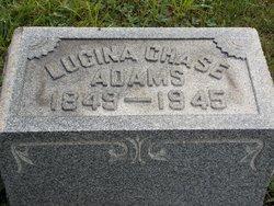 N. Lucinda <I>Chase</I> Adams