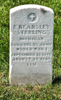 Col Edmund Kearsley Sterling