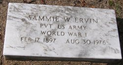 Sammie W. Ervin