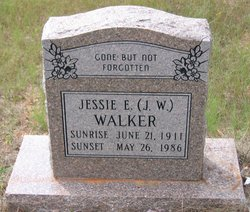 "Jessie E. ""J.W."" Walker, Sr"