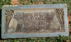 Lilla May <I>Holdiness</I> Marshall