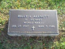 """William Lloyd """"Billy"""" Allnutt"""