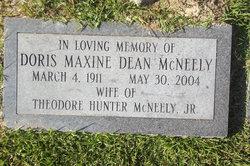 Doris Maxine <I>Dean</I> McNeely