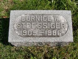 "Burnice Walter ""Bruzz"" Stoessiger"