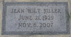 Doris Jean <I>Wilt</I> Biller