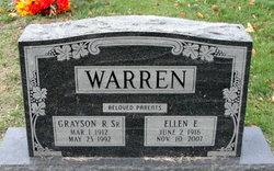 Ellen Edna <I>Benson</I> Warren