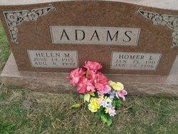 Homer L Adams