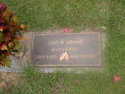 Lois W. Adams