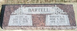 Henry Walter Bartell