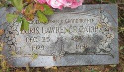 Doris <I>Lawrence</I> Calip