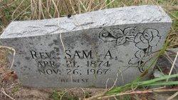Rev Sam A. Jones