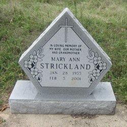 Mary Ann Strickland