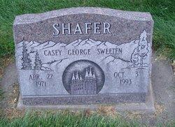 Casey George Sweeten Shafer