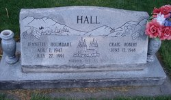 Jeanette <I>Holmdahl</I> Hall