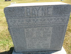 Josephine <I>Conner</I> Bayne