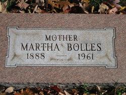 Martha Mae <I>Knapp</I> Bolles