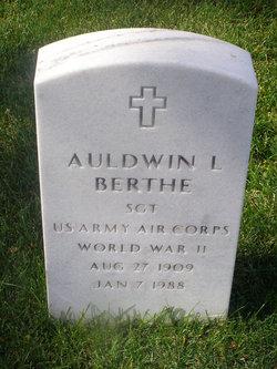 "Auldwin L ""Pete"" Berthe"