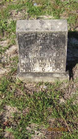 Ann Rebecca <I>McDowell</I> Newton
