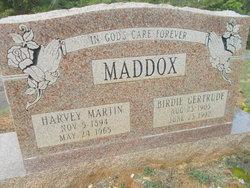 Birdie Gertrude <I>Powell</I> Maddox