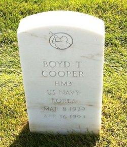 Boyd Thomas Cooper
