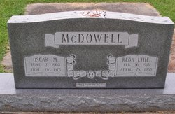Reba Ethel <I>Todd</I> McDowell