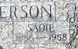 "Sarah Catherine ""Sadie"" <I>Warren</I> Anderson"