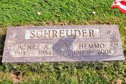 Agnes A <I>Klein</I> Schreuder