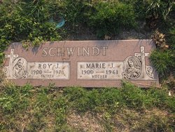 Marie J <I>Hayes</I> Schwindt