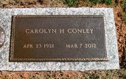 Carolyn <I>Henson</I> Conley