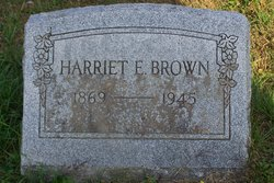Harriet Emeline <I>Burt</I> Brown