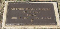 Corp Arthur Wesley Harper