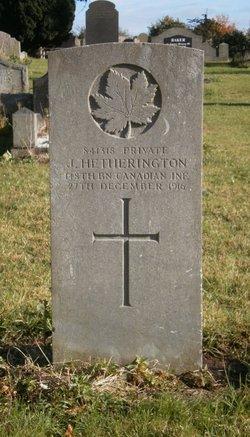 Private James Watson Hetherington