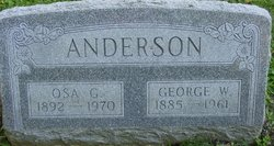 George W Anderson