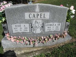 George Albert Capel Sr.
